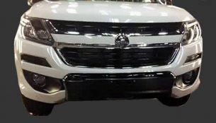 2016 Holden Colorado (facelift) front-end revealed – Spied