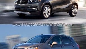 2017 Buick Encore vs 2013 Buick Encore - Old vs New