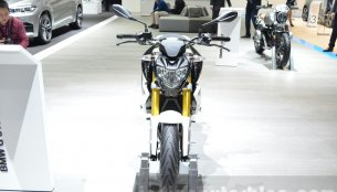 List of accessories for the BMW G310R inside