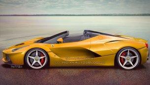 Ferrari LaFerrari Spider – IAB Rendering