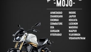 Mahindra Mojo launched in Chennai, Goa, Kolkata and 12 other cities - IAB Report