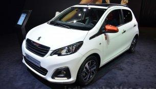 Peugeot 108 Roland Garros, Peugeot 208 Roland Garros - Geneva Motor Show Live