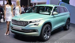 Skoda VisionS-based SUV (Kodiaq) to arrive in India next year - Report