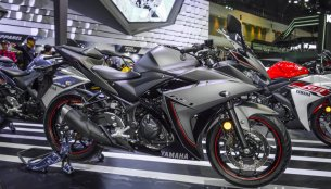 Yamaha R3 Matte Grey - 2016 Bangkok Live