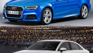 Audi A3 Sedan facelift – Old vs. New