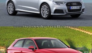 2016 Audi A3 hatchback (facelift) – Old vs. New