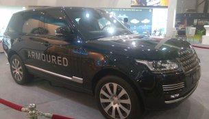 Range Rover Sentinel makes Indian debut at Defexpo 2016