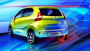 Datsun redi-GO branding confirmed, full exterior teased