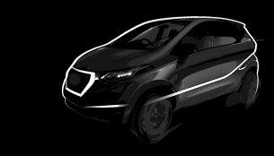 Datsun redi-Go's silhouette teased ahead of world premiere