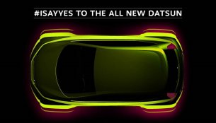 Production Datsun redi-GO teased, launch on April 14