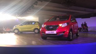 Datsun redi-GO makes its world debut in India