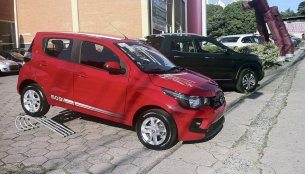 Fiat Mobi starts arriving at dealerships ahead of launch
