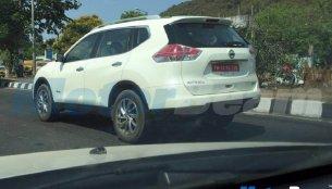 Nissan X-Trail Hybrid spied in Chennai