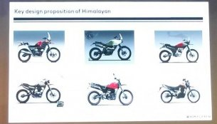 Sketches of what could have been the Royal Enfield Himalayan revealed