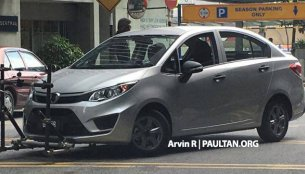 2016 Proton Persona spied completely undisguised