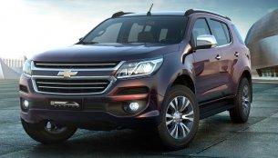 Production-spec 2016 Chevrolet Trailblazer (facelift) unveiled