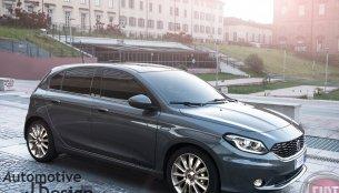 2017 Fiat Punto - Rendering