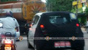 Chevrolet Beat Activ spotted testing in India for the first time
