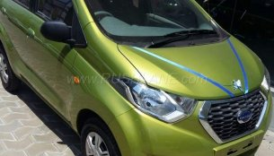 Datsun redi-GO spied ahead of launch