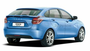 Lada Vesta hatchback to launch in 2017 - Report