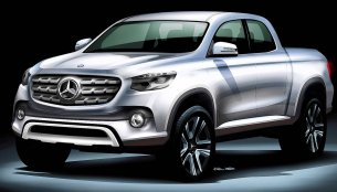 Details on the Mercedes pick-up truck to be revealed this month