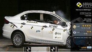 Suzuki Ciaz scores 4/5 in ASEAN NCAP crash test