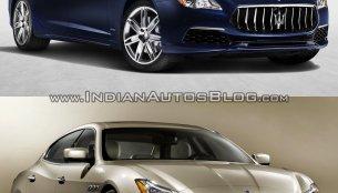 Maserati Quattroporte - Old vs. New