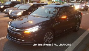 2016 Proton Perdana spied near a dealership