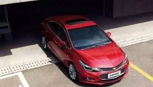 India-bound new Chevrolet Cruze gets a facelift in China