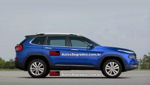 Fiat Toro SUV under development