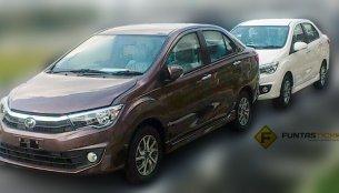 Perodua D63D sedan leaks out, to get 1.3 VVT engine