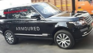 Range Rover Sentinel spotted in India