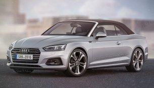 2017 Audi A5 Cabriolet - Rendering