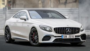 Mercedes S63 AMG Coupe facelift - Rendering