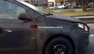Fiat X6H hatchback spied on test in Brazil