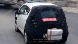 Next-gen 2017 Chevrolet Beat spied testing by IAB reader