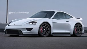 Next-gen Porsche 911 with MissonE styling cues - Rendering