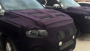 Next-gen Ssangyong Rexton's interior revealed in spyshots