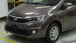 Perodua Bezza sedan (Toyota Etios rival) revealed for Malaysia