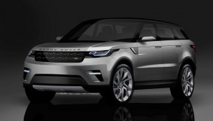 Range Rover Coupe - Rendering