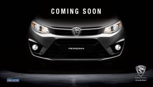 2016 Proton Persona (Iriz-based sedan) teased ahead of launch this month
