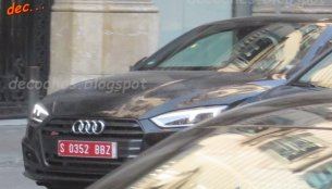 2017 Audi RS5 spied undisguised