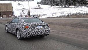 Purported 2018 Lexus LS spied - Video