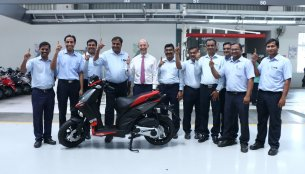 Production of Aprilia SR 150 starts in India