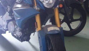 BMW G310R spied in India yet again
