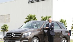 Mercedes GLE 400 4MATIC petrol launched at INR 74.90 Lakhs
