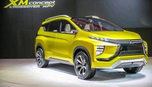 Mitsubishi XM (Honda BR-V rival) crossover revealed at GIIAS