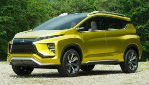 Mitsubishi XM crossover concept (Honda BR-V rival) revealed