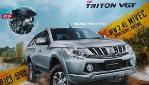 2016 Mitsubishi Triton's brochure leaked - Report