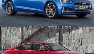 2017 Audi A5/S5 Sportback vs Older model - In Images